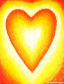 sacred-heart-fire-phoenix-angel-artist-copyright-samantha-winstanley-www.artoftheangels.com